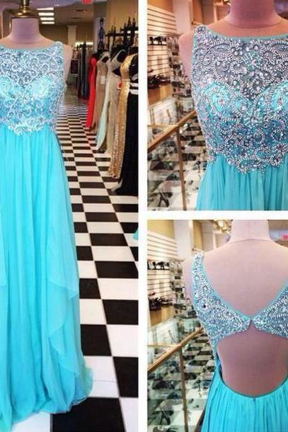 Blue Prom Dresses,Backless Prom Gowns,Sparkle Prom Dresses,2018 Party Dresses,Long Prom Gown,Open Back Prom Dress,Sparkly Evening Gowns,Glitter Prom Gowns,Open Backs Evening Gowns PD20184723
