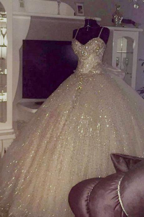 Wedding Dresses, Wedding Gown,ball gown wedding dresses 2018 new design Princess Wedding Dresses PD20187849