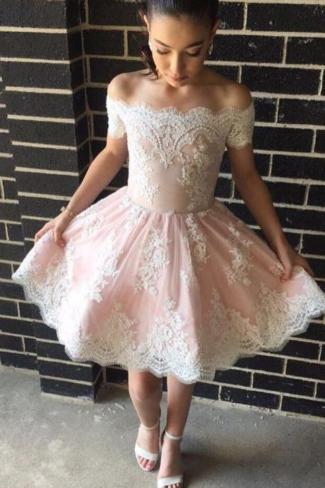 Homecoming Dress,short prom dresses,off the shoulder dresses,women' s party dress,short prom gowns,graduation dress PD20187949