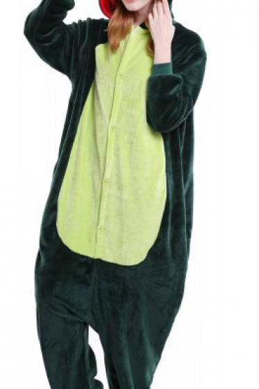 Unisex-adult Animal Onesie Pajamas Kigurumi Cosplay Costume Halloween Dinosaur